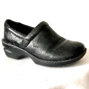 BOC Peggy Floral Tooled Clog Shoe